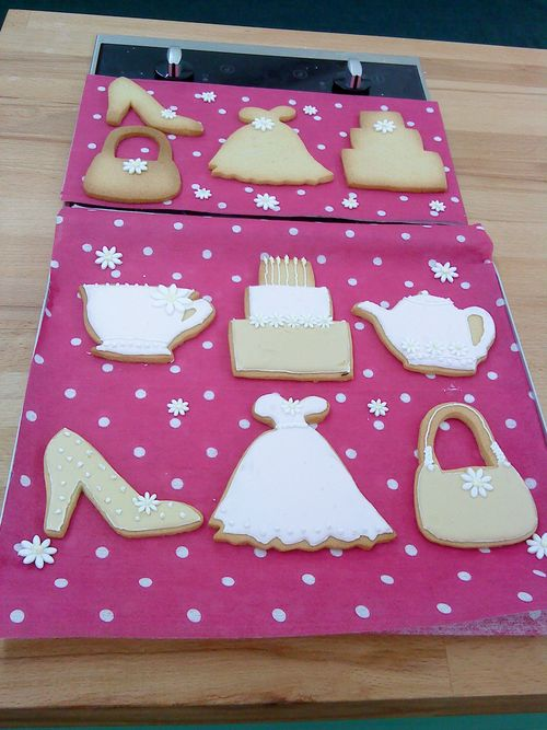 GBBO decorated biscuits