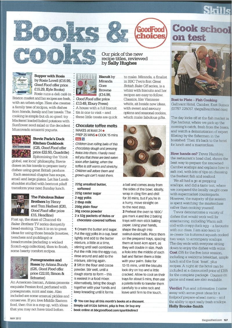 Good Food Magazine April 2012